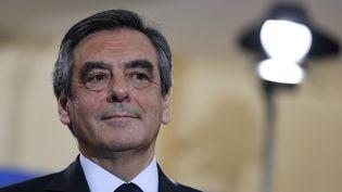 François Fillon, candidat de la droite pour l'élection présidentielle de 2017. (THOMAS SAMSON / AFP)