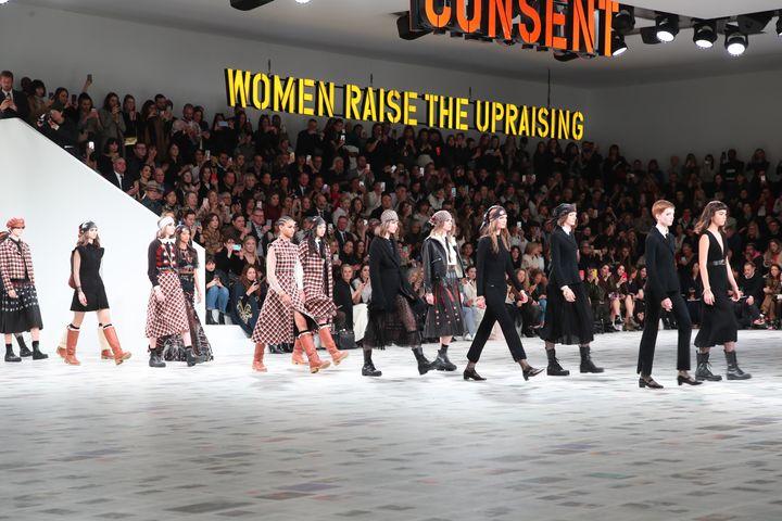 Défilé Dior pap féminin automne-hiver 2020-21, lors de la Paris Fashion Week, le 25 février 2020 (BERTRAND RINDOFF PETROFF / FRENCH SELECT)
