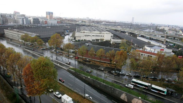 (Le braquage a eu lieu au niveau de la Porte de la Chapelle à Paris © MAXPPP)