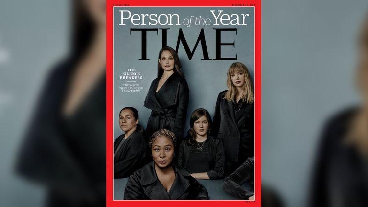 """Le magazine """"Time"""" a désigné """"personnalités de l'année"""" les femmes et les hommes """"qui ont brisé le silence"""" dans les affaires de harcèlement et d'agressions sexuelles,le 6 décembre 2017. (TIME)"""