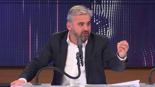 Alexis Corbière, député La France insoumise de Seine-Saint-Denis, invité de franceinfo mercredi 30 décembre 2020.  (FRANCEINFO / RADIO FRANCE)
