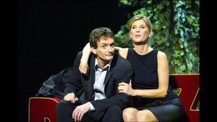 Michèle Laroque et Pierre Palmade, le duo amoureux revient sur la scène du Casino de Paris  ( NIVIERE/SIPA)