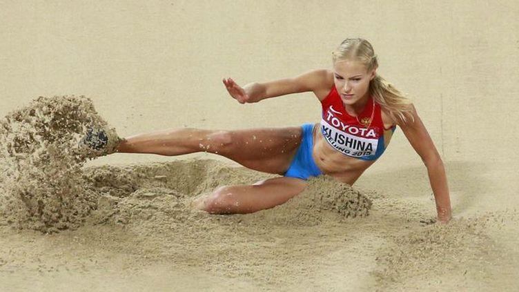 (Darya Klishina est double championne d'Europe de saut en longueur © REUTERS/Kim Kyung Hoon)