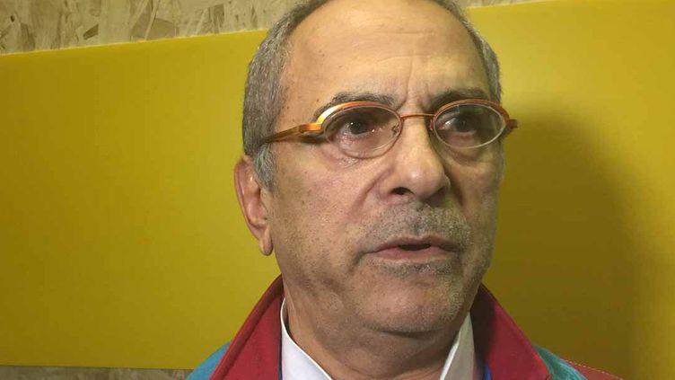 L'ancien président José Ramos-Horta, chef de la délégation du Timor Oriental, lors d'une conférence de presse le 10 décembre 2015 pendant la conférence climat de Paris. (Geopolis/FG)