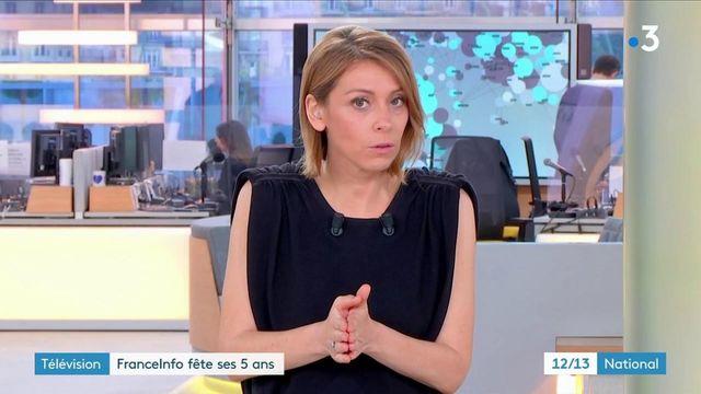 Télévision : la chaîne Franceinfo fête ses cinq ans sur le canal 27