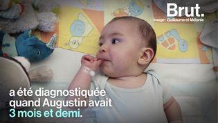 VIDEO. Atteint d'une maladie génétique rare, Augustin est soigné grâce à la thérapie génique (BRUT)