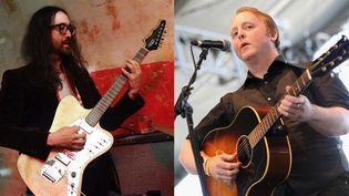 À gauche : Seal Lennon à New York le 7 septembre 2017. À droite : James McCartney au festival Coachella, en Californie, le 12 avril 2013  (BFA / Shutterstock / Sipa pour Sean --- Karl Walter / Getty Images / AFP pour James)
