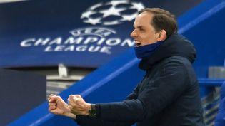 Qualifié pour la finale de la Ligue des champions, Thomas Tuchel a redoré le blason de Chelsea quelques mois. (GLYN KIRK / AFP)