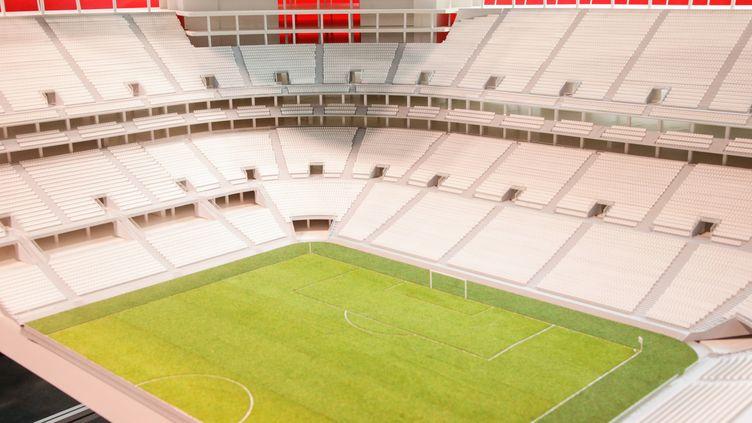 Le projet de base de l'Eurostadium Stadium à Bruxelles pour l'Euro 2020.