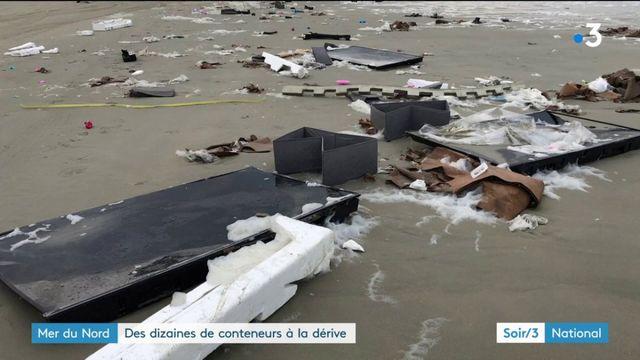 Pays-Bas : 270 conteneurs d'un cargo à la dérive ou échoués