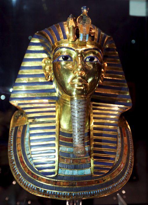 Le masquefunéraire en or du roi Toutankhamon exposé au musée du Caire (16 décembre 2015) (REUTERS - Mohamed Abd El Ghany)