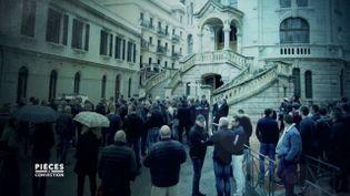 Quand la police de Monaco manifeste contre un juge qui enquête sur la corruption (PIÈCES A CONVICTION / FRANCE 3)