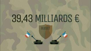 En 2013, le budget de la Défense française frôlait les 40 milliards d'euros. (FRANCE 5)
