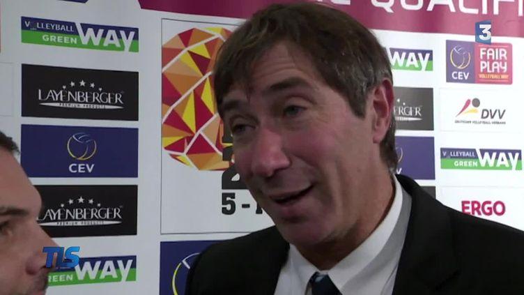Laurent Tillie, entraîneur de l'équipe de France
