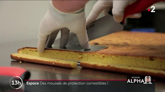 Espace : des gâteaux serviront de protections mais aussi d'aliments pour Thomas Pesquet et son équipe
