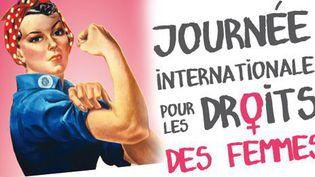 Affiche de la journée internationale des droits des femmes (HOWARD MILLER)