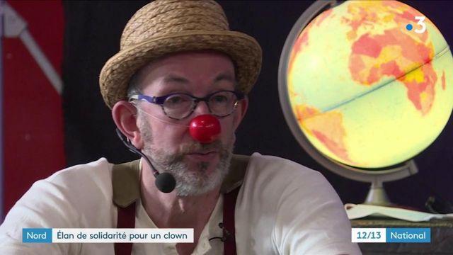 Nord : un bel élan de solidarité pour venir en aide à Sirouy le clown