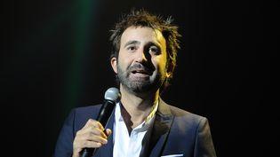 Mathieu Madenian au festival de la fiction TV de La Rochelle. (XAVIER LEOTY / AFP)