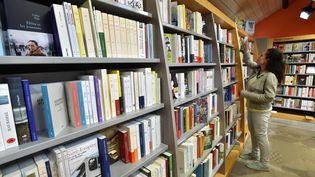 Une librairie de Morlaix, le 19 août 2019. (CLAUDE PRIGENT / MAXPPP)