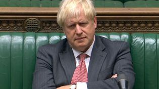 Boris Johnson au parlement britannique, le 14 septembre 2020. (AFP)