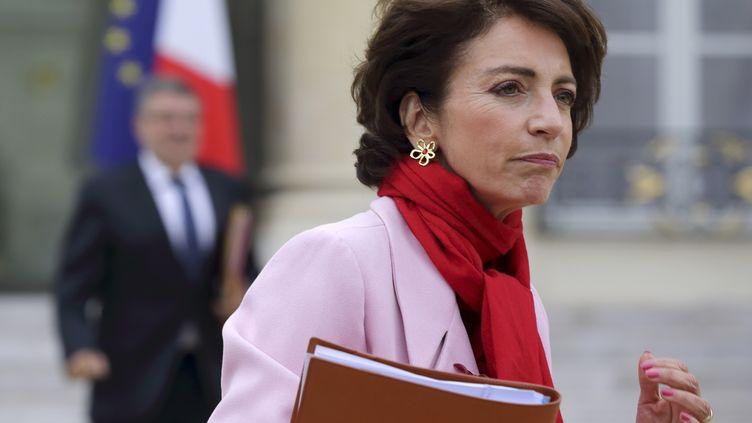 La ministre de la Santé, Marisol Touraine, le 3 octobre 2012 dans la cour de l'Elysée (Paris). (PHILIPPE WOJAZER / REUTERS)