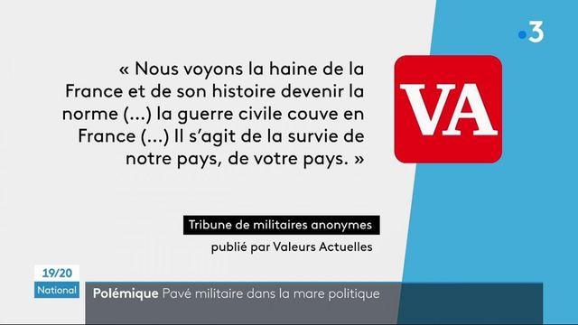"""Polémique : """"Valeurs Actuelles"""" publie une nouvelle tribune de militaires anonymes"""