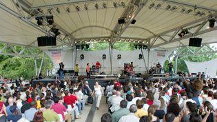 Du jazz au Parc floral de Vincennes (archives)...  (Cédric Lecocq / Le Parisien / MaxPPP)