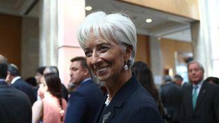 La directrice générale du Fonds monétaire international (FMI) Christine Lagarde, au G20 àAnkara (Turquie), le 5 septembre 2015. (ADEM ALTAN / AFP)