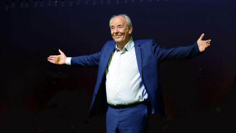 Maxime Le Forestier en concert au Theatre du Vesinet dans le cadre du festival l'Estival. Le Vesinet, France- 28/09/2019 (SADAKA EDMOND/SIPA)