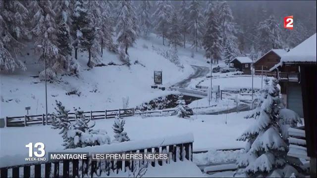 Montagne : les premières neiges