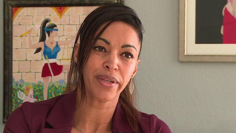 Sarah Kadi, mère d'une enfant victime d'inceste. (CAPTURE D'ÉCRAN FRANCE 3)