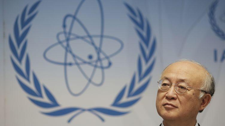 Le directeur général de l'AIEA,Yukiya Amano, le 8 juin 2015 à Vienne (Autriche). (LEONHARD FOEGER / REUTERS )