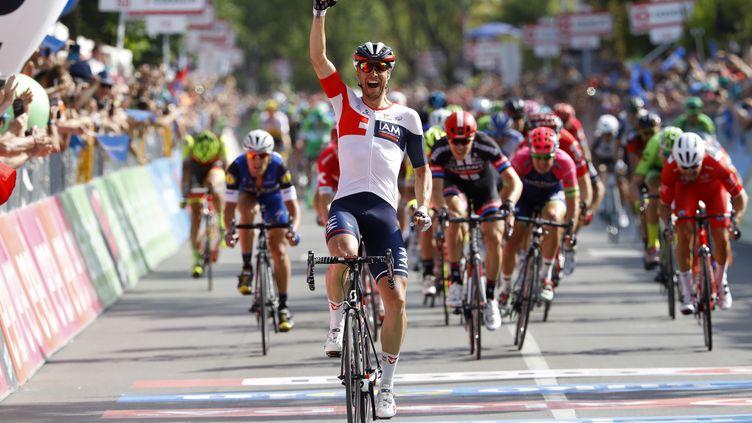 Roger Kluge, victorieux à Cassano d'Adda.