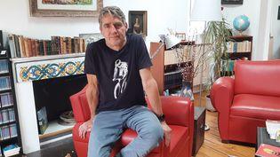 Klauz Kinzler, professeur d'allemand à Sciences Po Grenoble.(Isère) (SEBASTIEN BAER / RADIO FRANCE)
