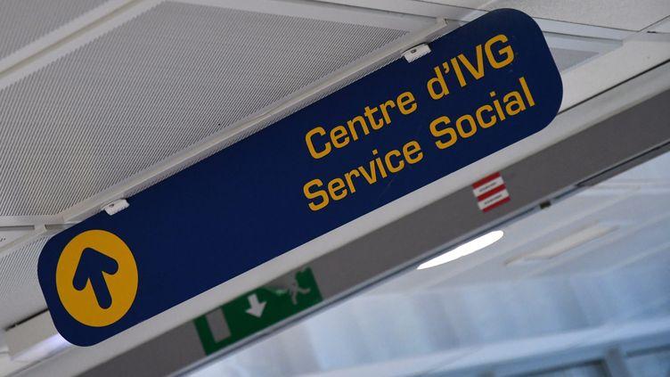 Le centre d'IVG et de service social de l'hôpital de Perpignan (Pyrénées-orientales). Photo d'ilustration. (MICHEL CLEMENTZ / MAXPPP)