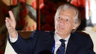 Dominique de Villepin, le 22 novembre 2013 lors d'un sommet international à Wuhan (Chine). (ZHOU CHAO / IMAGINECHINA)