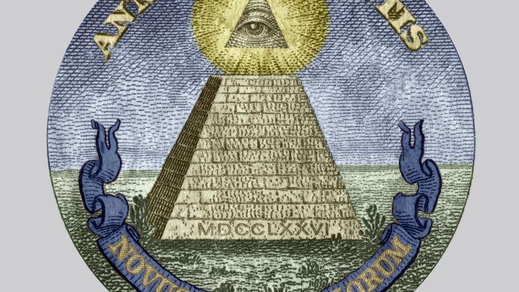 """La pyramide et l'oeil sont des symboles que certains conspirationnistes attribuent aux """"Illuminati"""". (APIC/RETIRED / HULTON ARCHIVE)"""