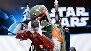 Le chasseur de prime le plus connu de l'univers de Star-Wars, Boba Fett, va avoir le droit à son propre long-métrage, réalisé par James Mangold.  (Benjamin Beytekin / DPA)