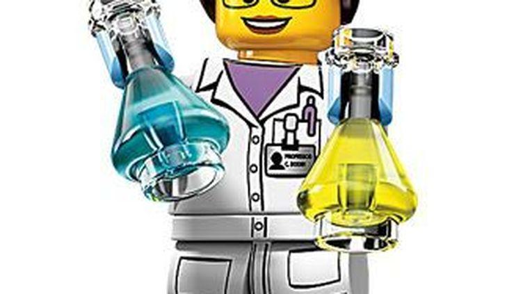 La figurine de femme scientifique lancée par Lego. (LEGO)
