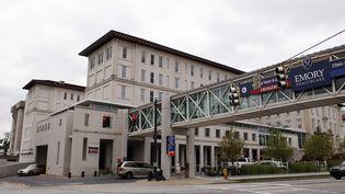 C'est dans cet hôpital d'Atlanta (Georgie), que vont être traitésles deux malades. ( TAMI CHAPPELL / REUTERS)