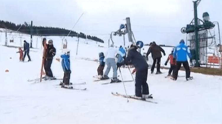 La station de ski des Fourgs (Doubs). ( FRANCE 2)