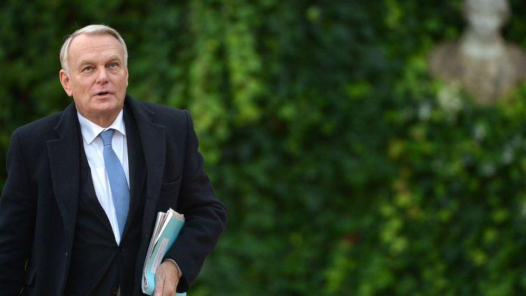 Le Premier ministre Jean-Marc Ayrault, le 20 novembre 2013 à Rome (Italie). (GABRIEL BOUYS / AFP)