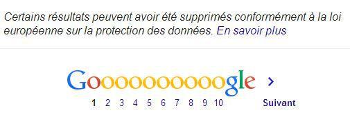 """Capture d'écran de la page de Google correspondant à une recherche """"Yann Thompson"""", le 26 juin 2014. (GOOGLE / FRANCETV INFO)"""