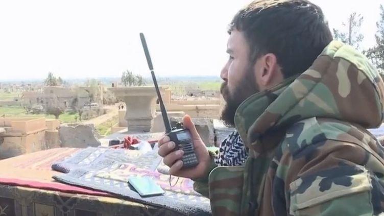 Dernier bastion des combattants de Daesh, la ville de Baghouz subit un assaut de grande ampleur de la part de la coalition internationale. (FRANCE 2)