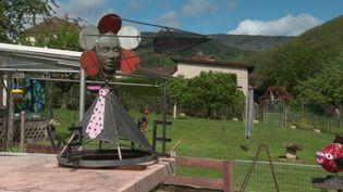 Exposition internationale d'art contemporain Syro d'Arts en Alsace. (CAPTURE D'ÉCRAN FRANCE 3 / E. KLEINHOFFER)