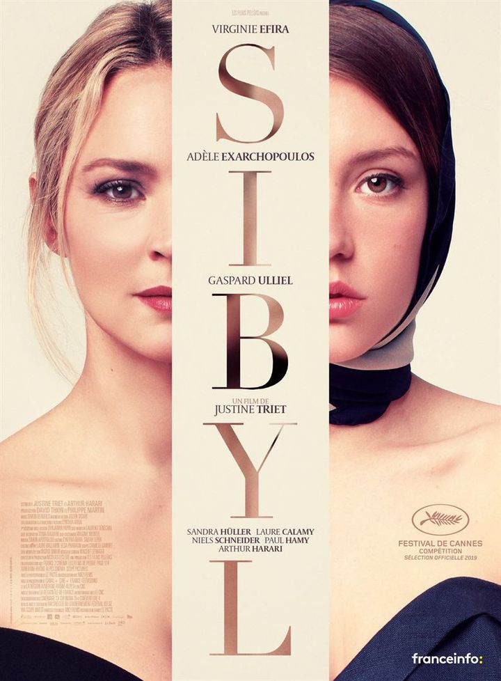 """""""Sybil"""" de Justine Triet (2019) (LE PACTE / ALLOCINE)"""