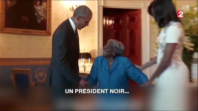 Etats-Unis : Barack Obama danse avec une femme de 106 ans
