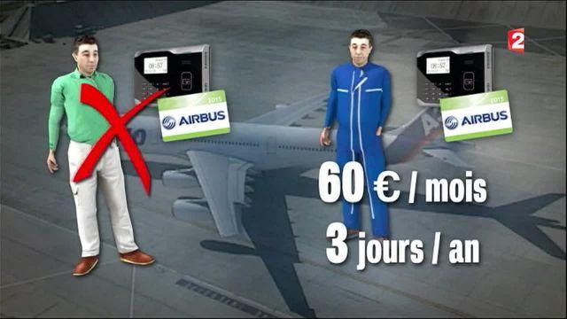 Airbus : polémique autour de la tenue de travail lors du pointage