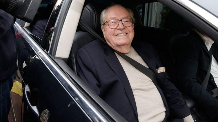 (Jean-Marie Le Pen suspendu du Front National pour trois mois, jusqu'à une AG extraordinaire © Maxppp)