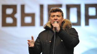Boris Nemtsov, le 24 décembre 2011 à Moscou (Russie). (ALEXANDER VILF / RIA NOVOSTI)